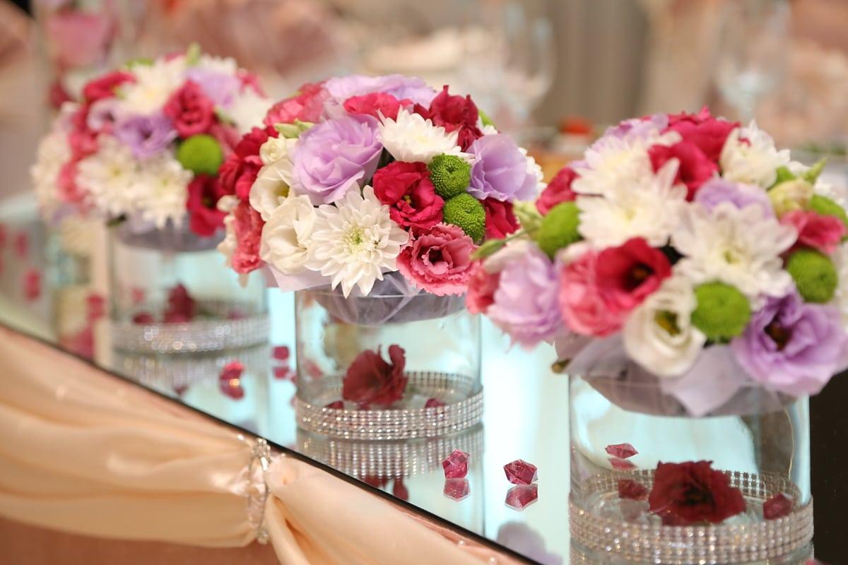День Святого Валентина, прикраса, букет, Ваза, природа, квітка, композиція, рожевий, квіти, Кохання