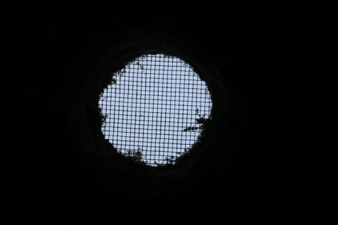 hole, dungeon, jail, darkness, tunnel, window, framework, art, light, dark