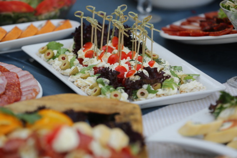 Salat-bar, Käse, vom Buffet, Frühstück, Olive, Kantine, Mittagessen, Wurst, Salami, Kaviar