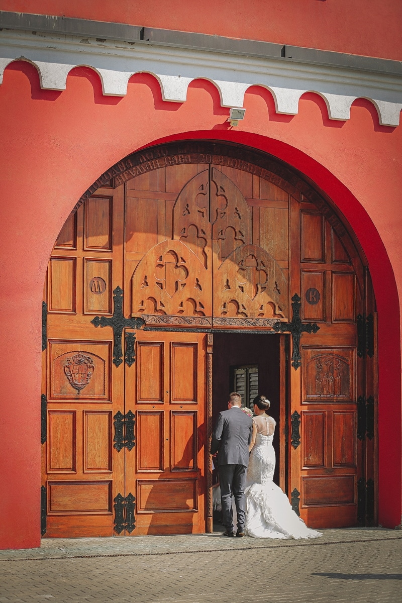 monastery, front door, bride, entrance, groom, doorway, building, architecture, door, house