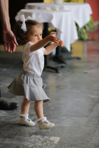 toddler, baby, girl, walking, adorable, skirt, dress, daughter, child, kid