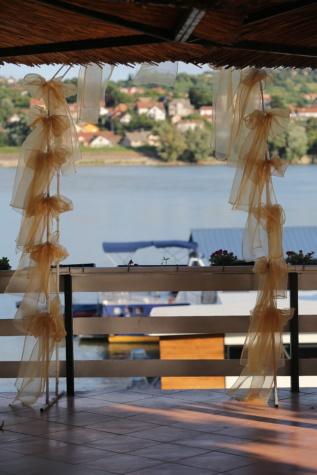 dekoratif, pagar, air, liburan, bunga, Resort, meja, liburan, Pantai, musim panas