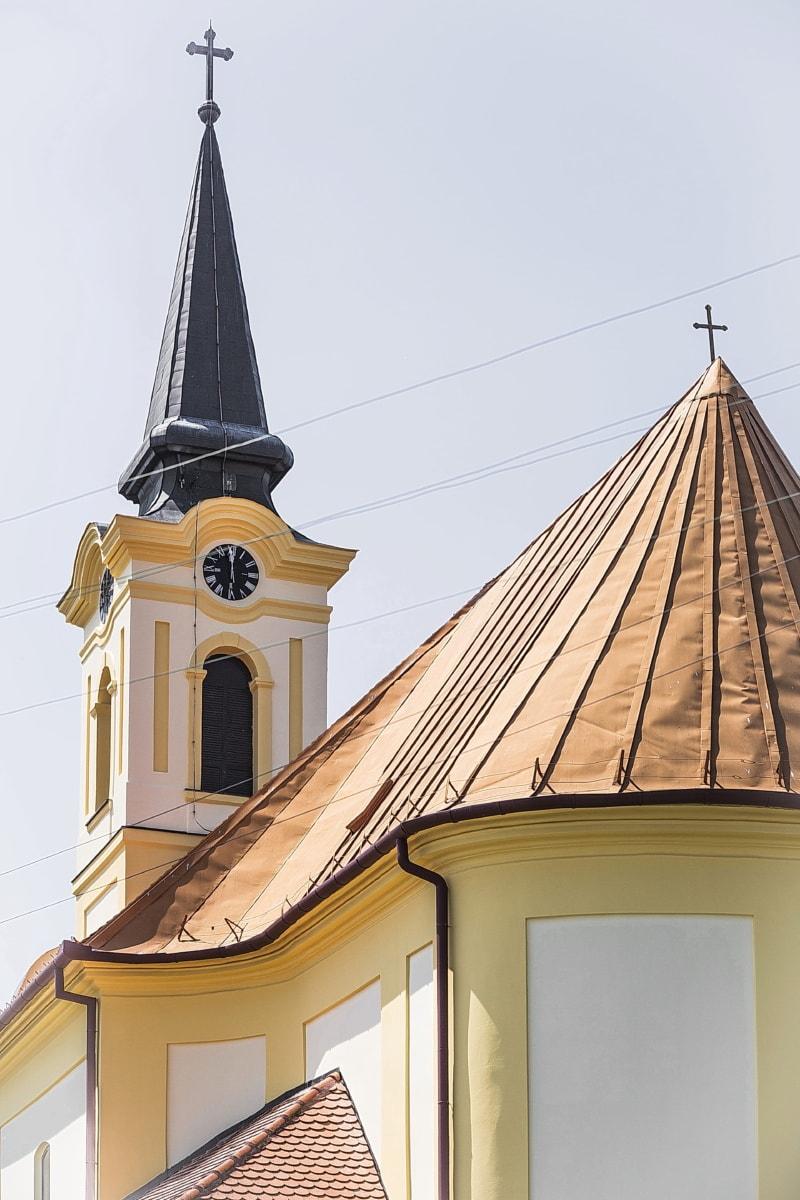 orthodoxe, Église, steeple, sur le toit, architecture, religion, paratonnerre, Cathédrale, traditionnel, vieux