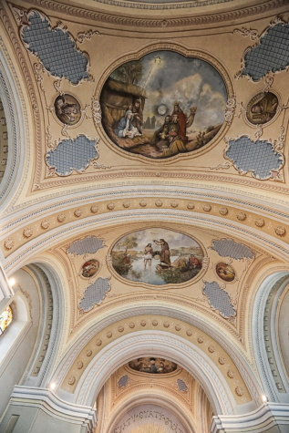 catholic, church, ceiling, fine arts, interior decoration, architectural style, dome, arch, architecture, roof