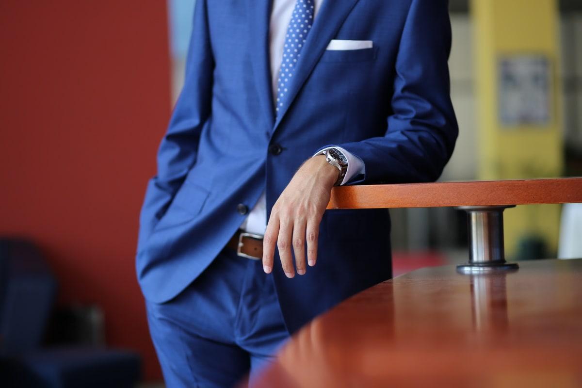 businessman, office, jacket, manager, pants, suit, leader, leadership, wristwatch, handsome