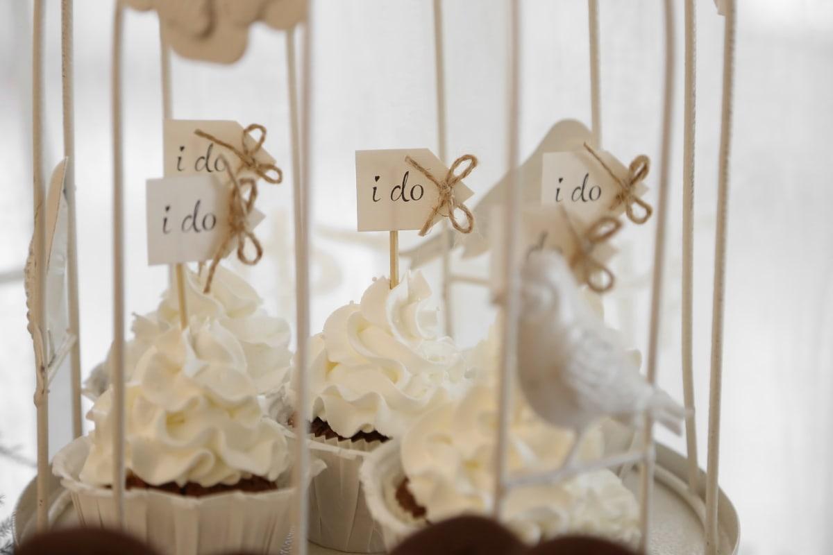 Hochzeit, Cupcake, Romantik, Interieur-design, Retro, elegant, traditionelle, Luxus, Liebe, Holz