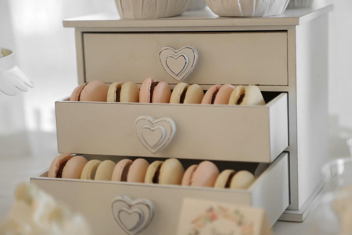 tiroir, biscuits, marchandise, maison, plateau, fait main, à l'intérieur, meubles, Design d'intérieur, bois
