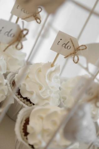 Cupcake, matrimonio, decorazione, dessert, crema, romanza, amore, zucchero, in casa, tradizionale