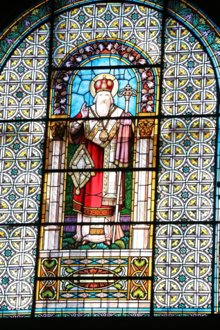 king, kingdom, stained glass, saint, handmade, framework, religion, decoration, window, church