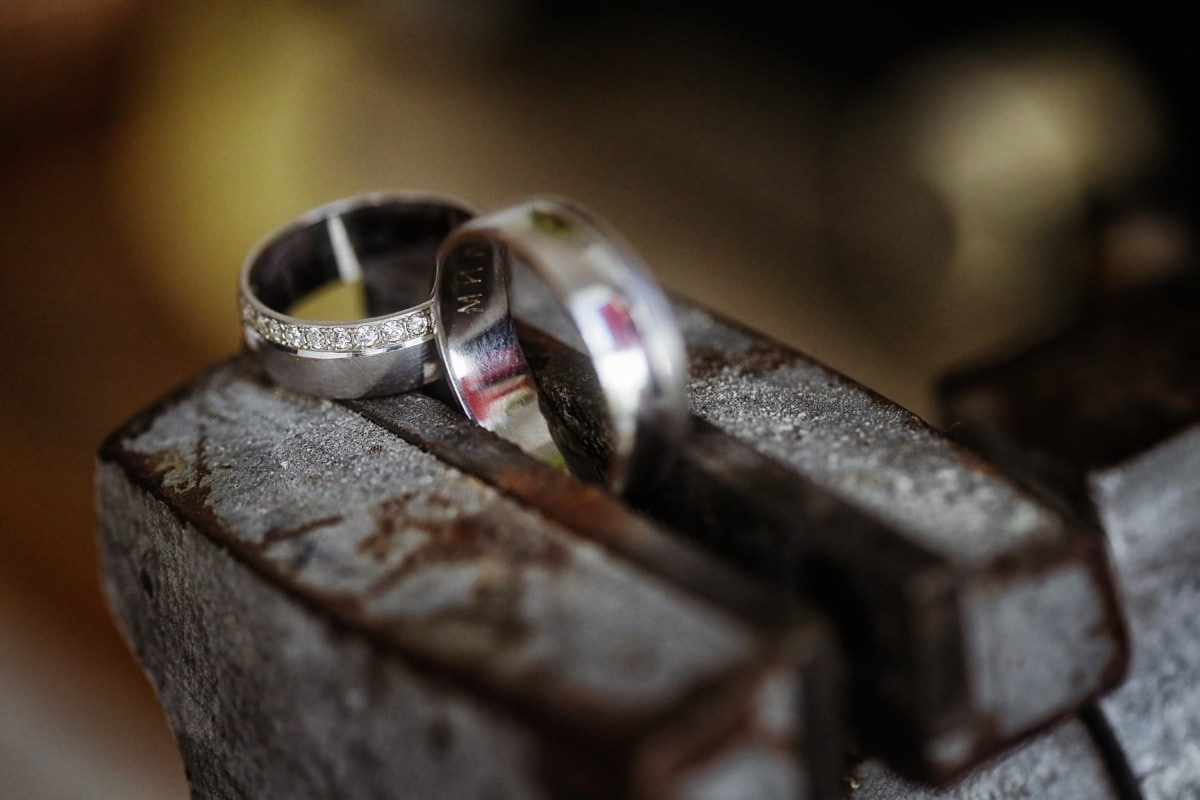 rings, pair, hand tool, craft, handmade, industrial, shop, old, device, antique