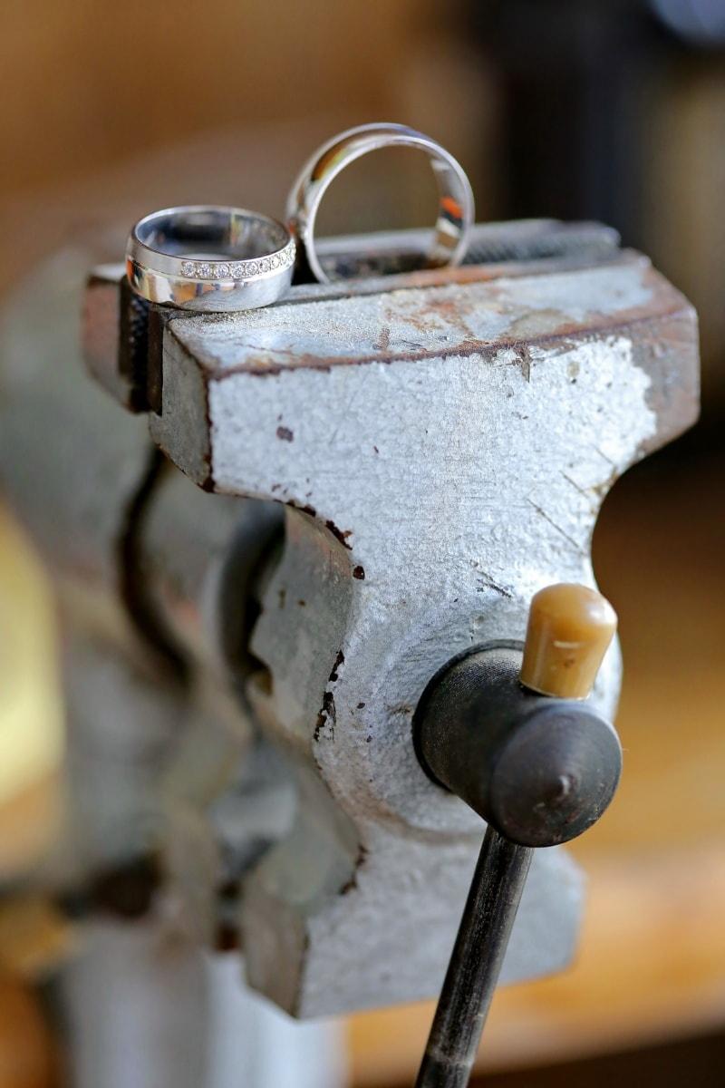 bague de mariage, anneaux, Or, outil à main, outil, secteur d'activité, artisanat, Metal, unité, en acier
