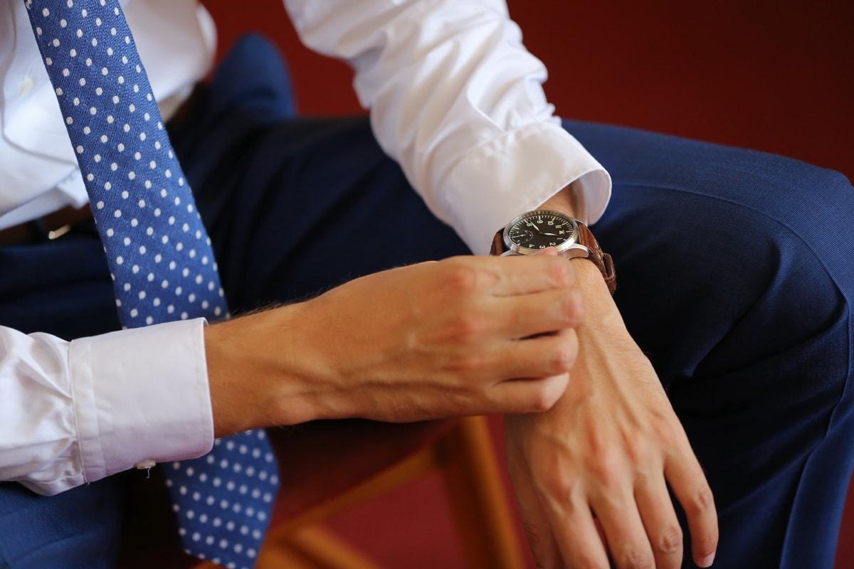 montre à bracelet, homme d'affaire, main, homme, gens, femme, à l'intérieur, entreprise, Loisirs, mains