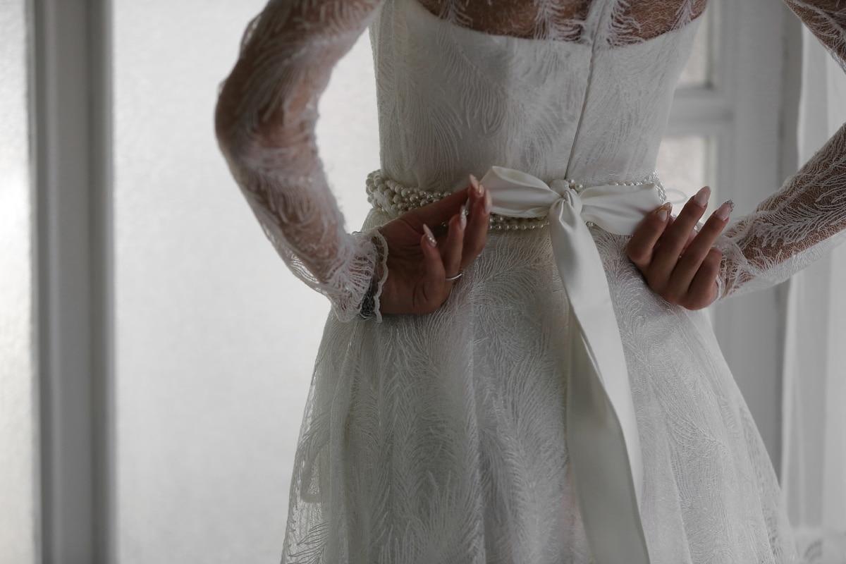 hands, wedding dress, elegance, finger, dress, white, manicure, wedding, bride, fashion