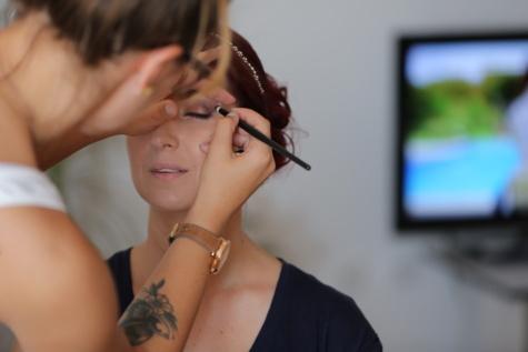Make-up, hübsches mädchen, Augen, Wimpern, Gesicht, Kosmetik, attraktiv, Frau, Mode, ziemlich