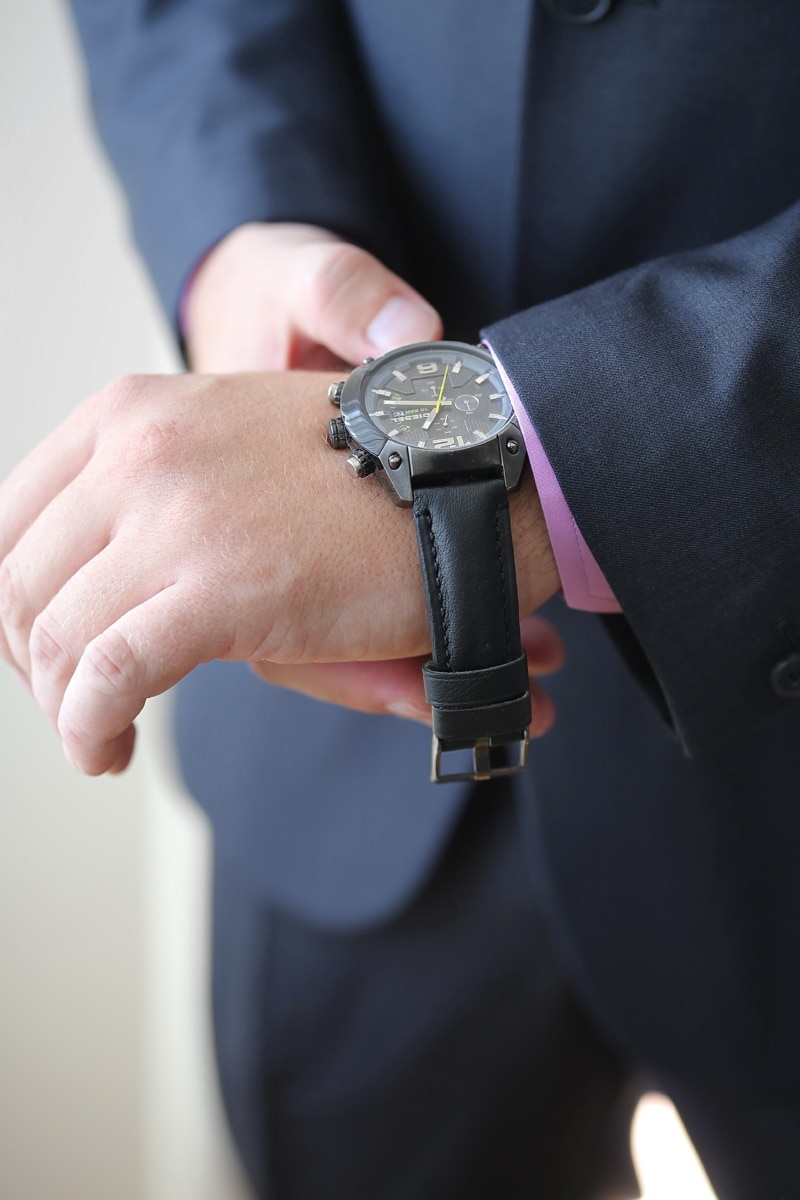 wristwatch, hands, suit, businessman, fastener, buckle, hand, man, business, people