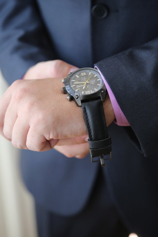 black, wristwatch, businessman, time, gentleman, man, buckle, hand, fastener, device