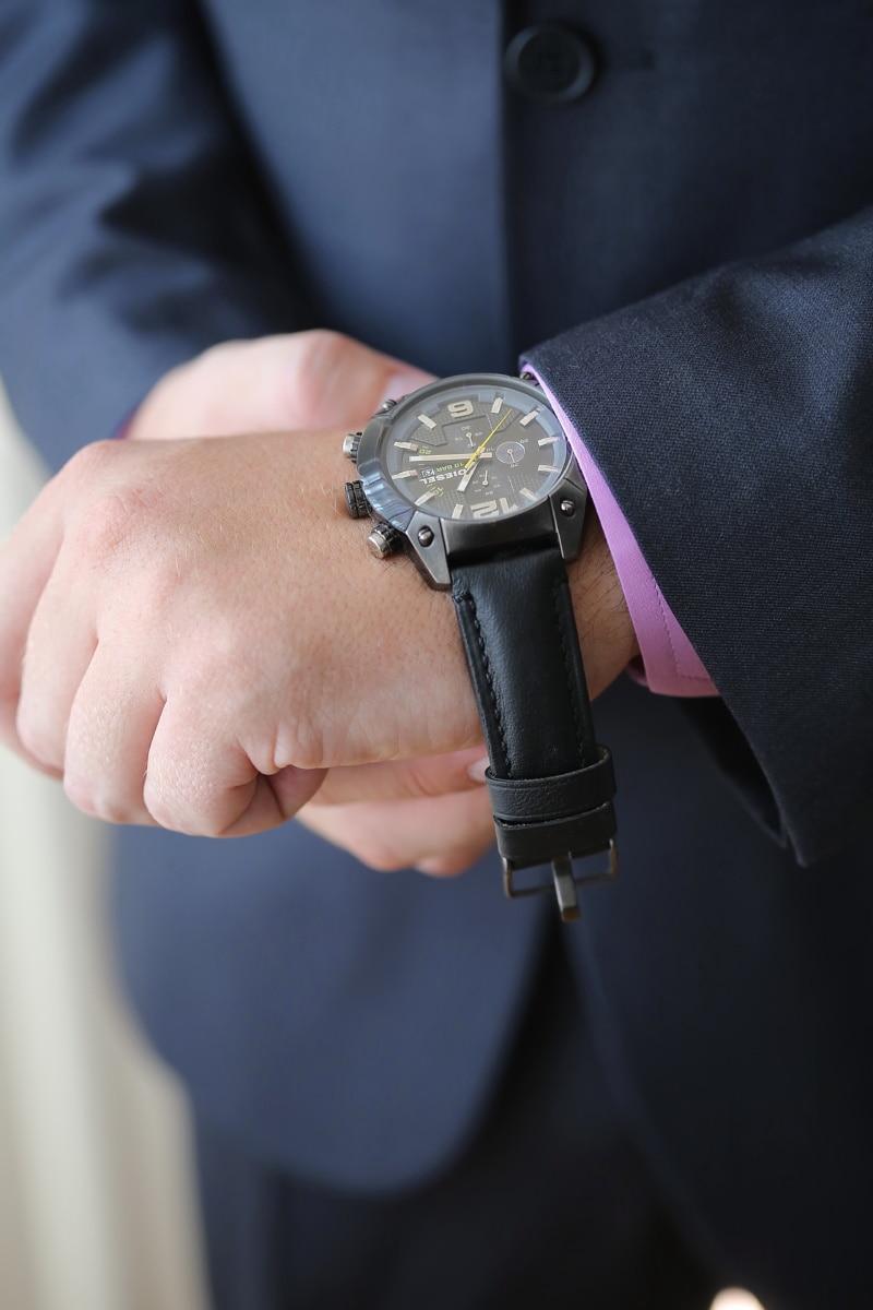 černá, náramkové hodinky, podnikatel, čas, gentleman, muž, Spona, ruka, uzávěr, zařízení
