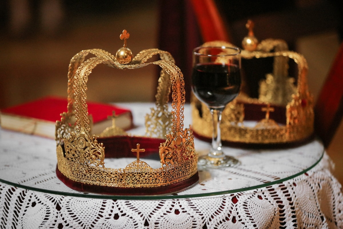Krone, Christian, Krönung, Rotwein, Buch, Bibel, Gold, Luxus, Wein, Interieur-design