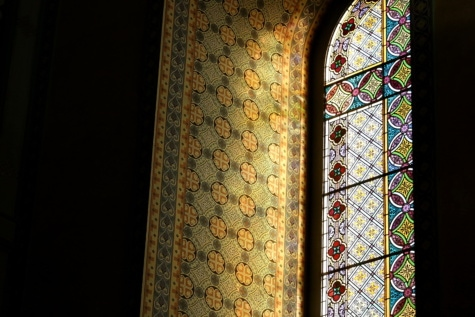 stained glass, window, arabic, fine arts, arabesque, framework, architecture, art, old, decoration