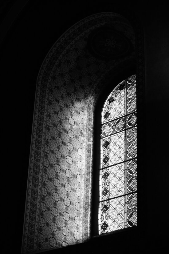stained glass, arabesque, arabic, window, light, shadow, architecture, building, city, arch
