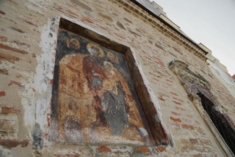 medieval, icon, orthodox, monastery, Serbia, heritage, wall, christianity, architecture, old