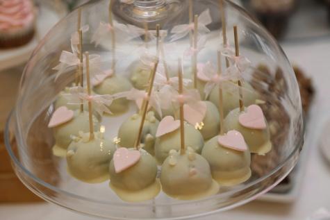 bol, dessert, bonbons, la sucette, fait main, coeurs, romantique, bonbons, à l'intérieur, verre