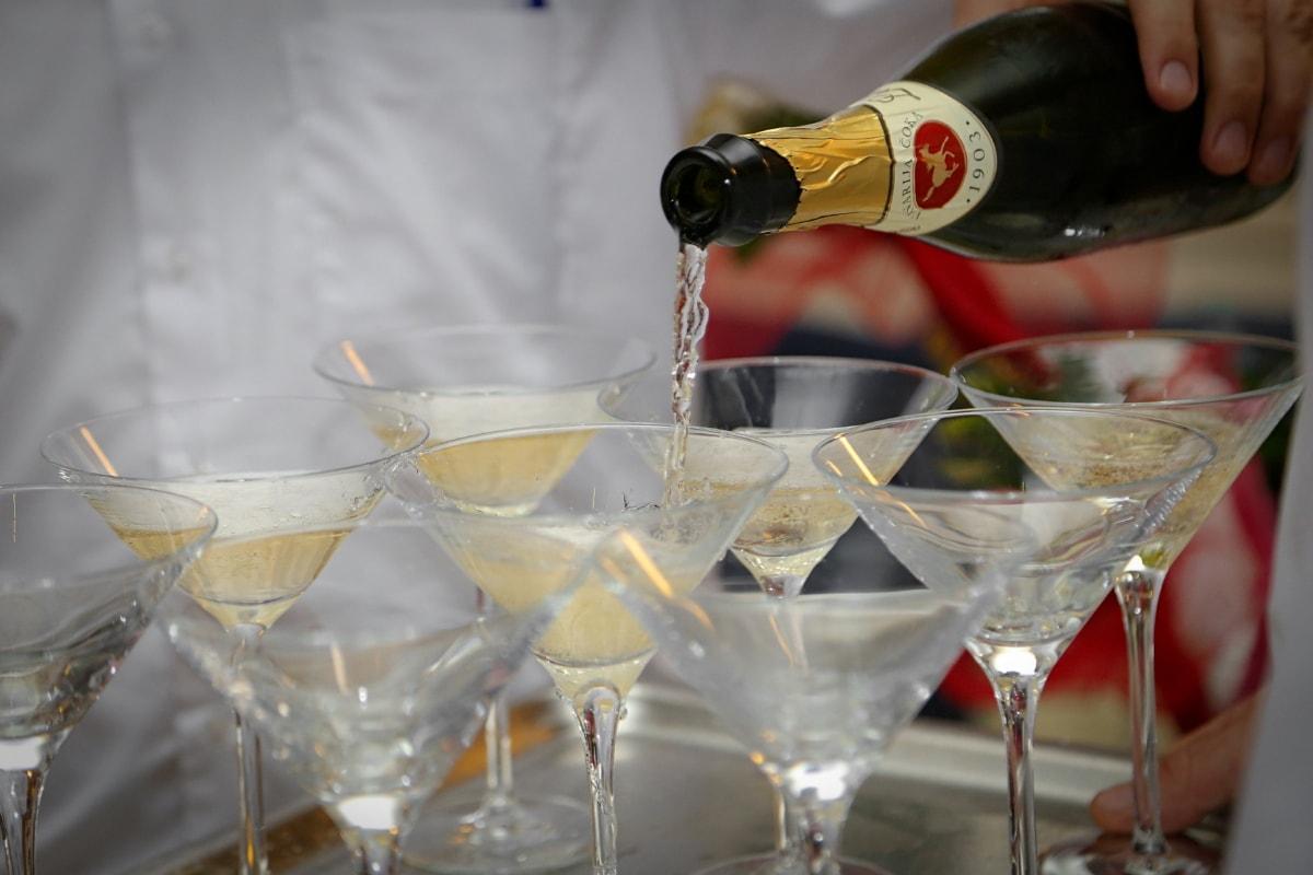 Weißwein, Champagner, Glas, Trinken, Alkohol, Partei, Wein, Getränke, Brille, Luxus