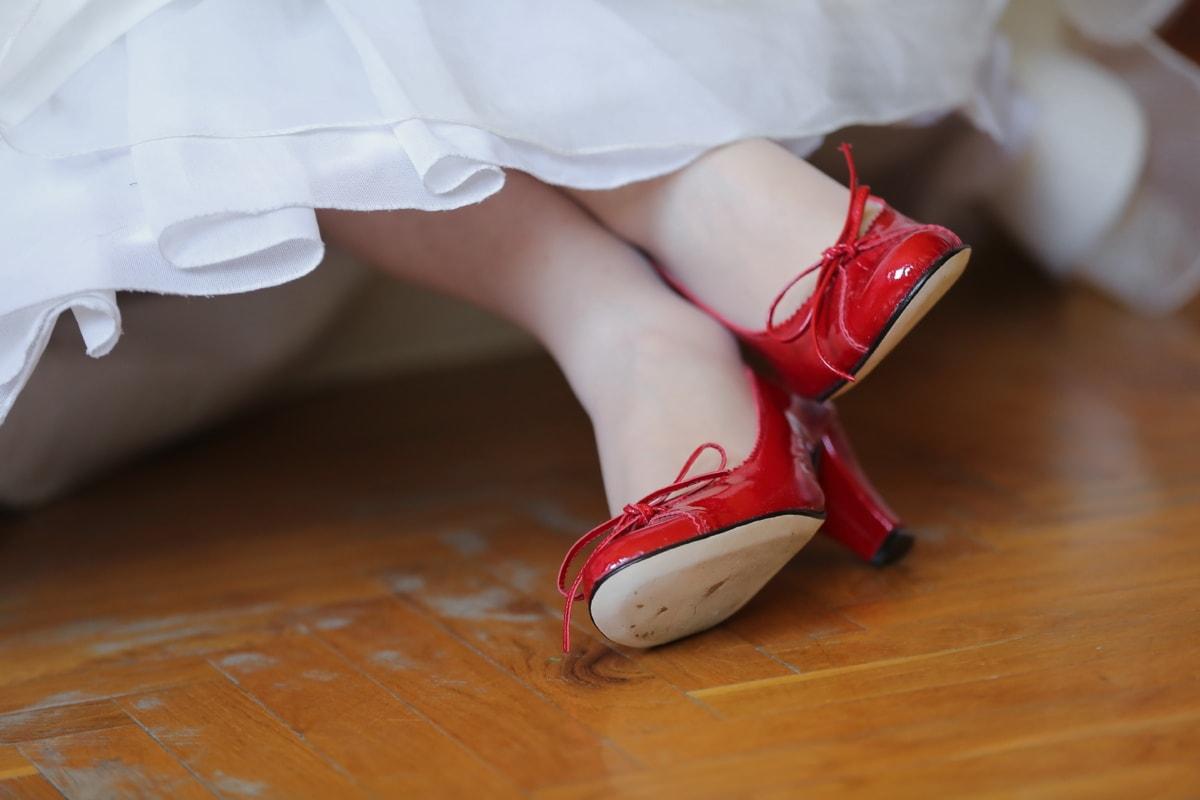 shining, sandal, heels, red, footwear, shoe, body, covering, legs, attractive