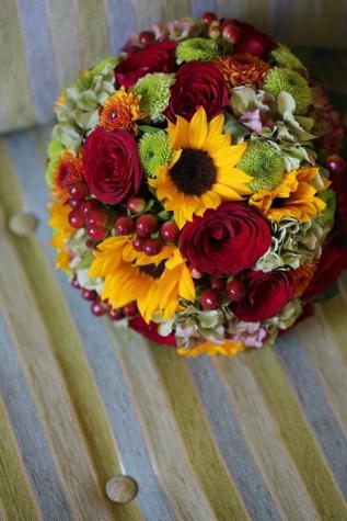 букет, весільний букет, Соняшник, прикраса, квіти, композиція, квітка, подарунок, цвітіння, Троянда