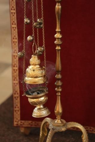 religieux, spiritualité, orthodoxe, objet, fait main, cuivre, en laiton, Metal, antique, bronze