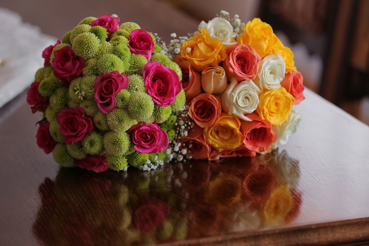 decoration, arrangement, rose, roses, flower, bouquet, romance, romantic, color, petal