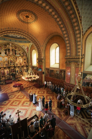 inside, russian, church, ceremony, wedding, wedding venue, indoors, altar, architecture, religion