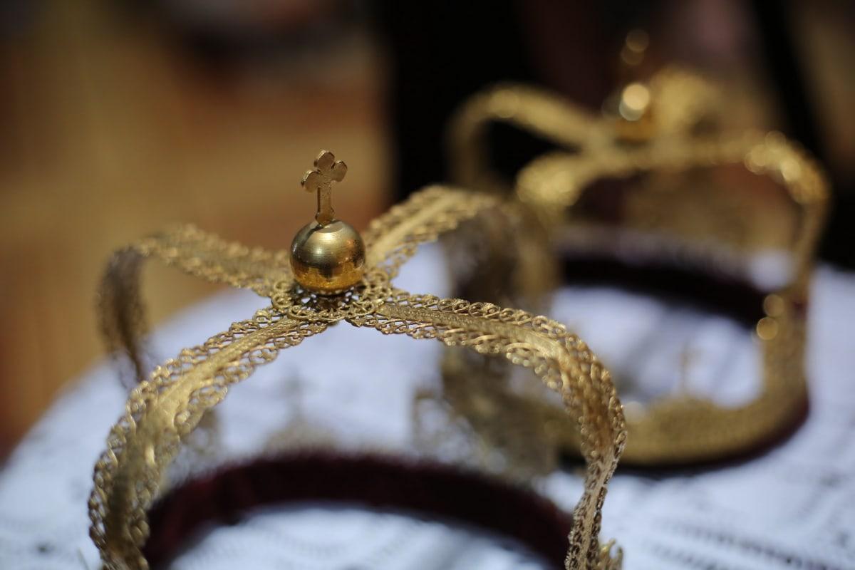 crown, gold, cross, detail, coronation, religion, shining, luxury, jewelry, decoration