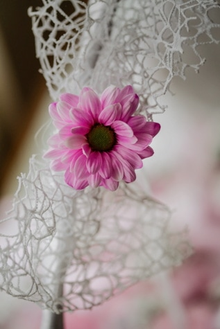 pinkish, flower, handmade, close-up, decoration, beautiful, flowers, bouquet, wedding, petal