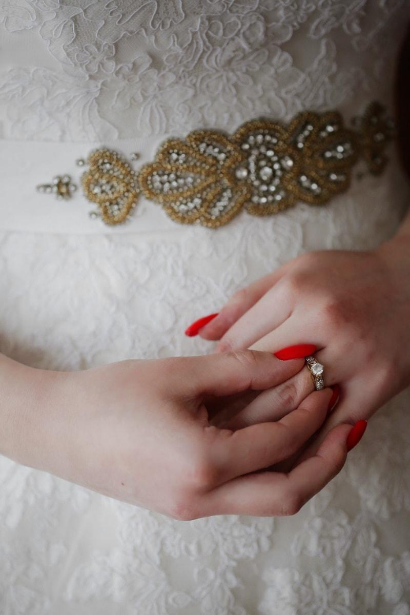 woman, wedding, skin, jewelry, bride, girl, love, hand, luxury, beautiful