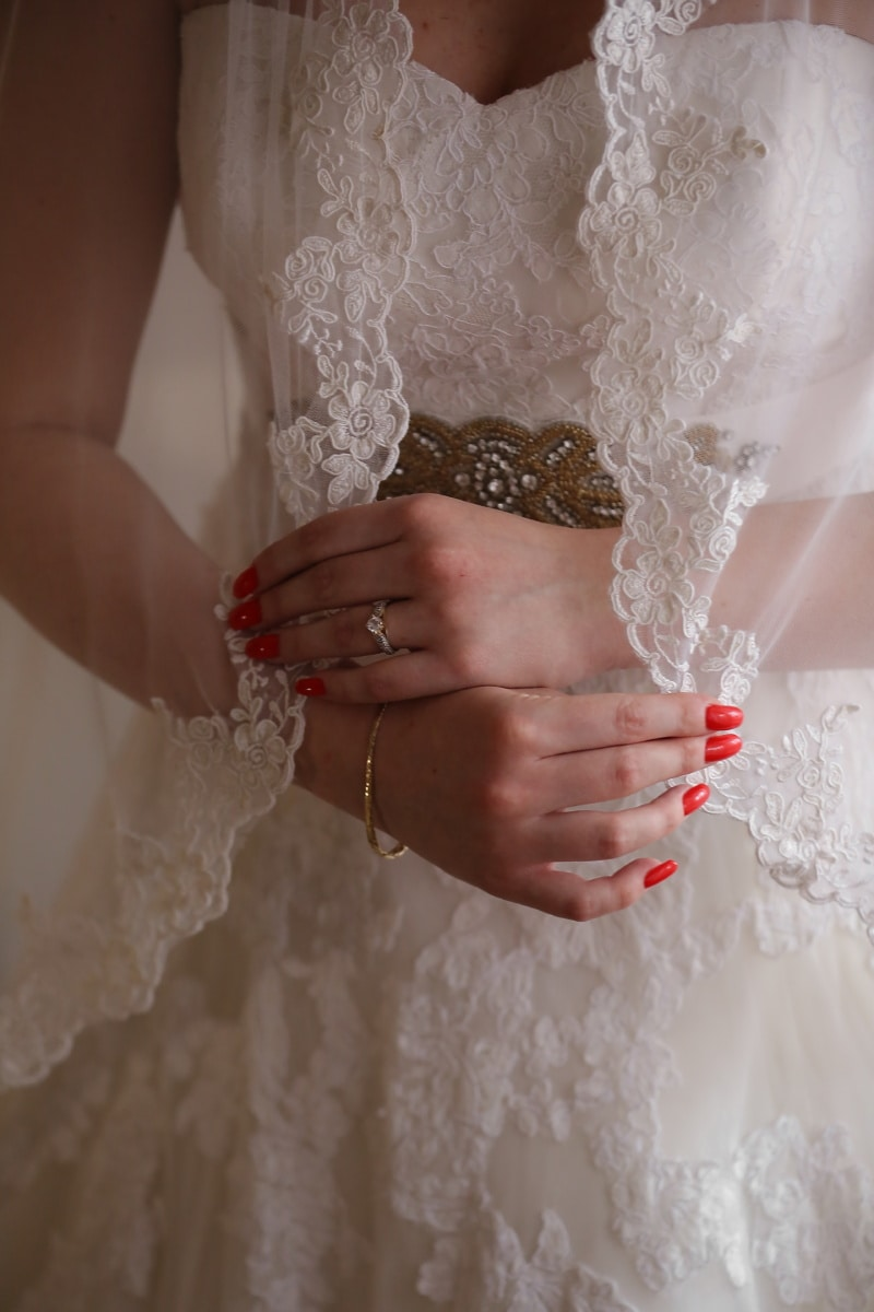 wedding dress, photo studio, professional, fashion, wedding, wedding ring, woman, groom, bride, engagement