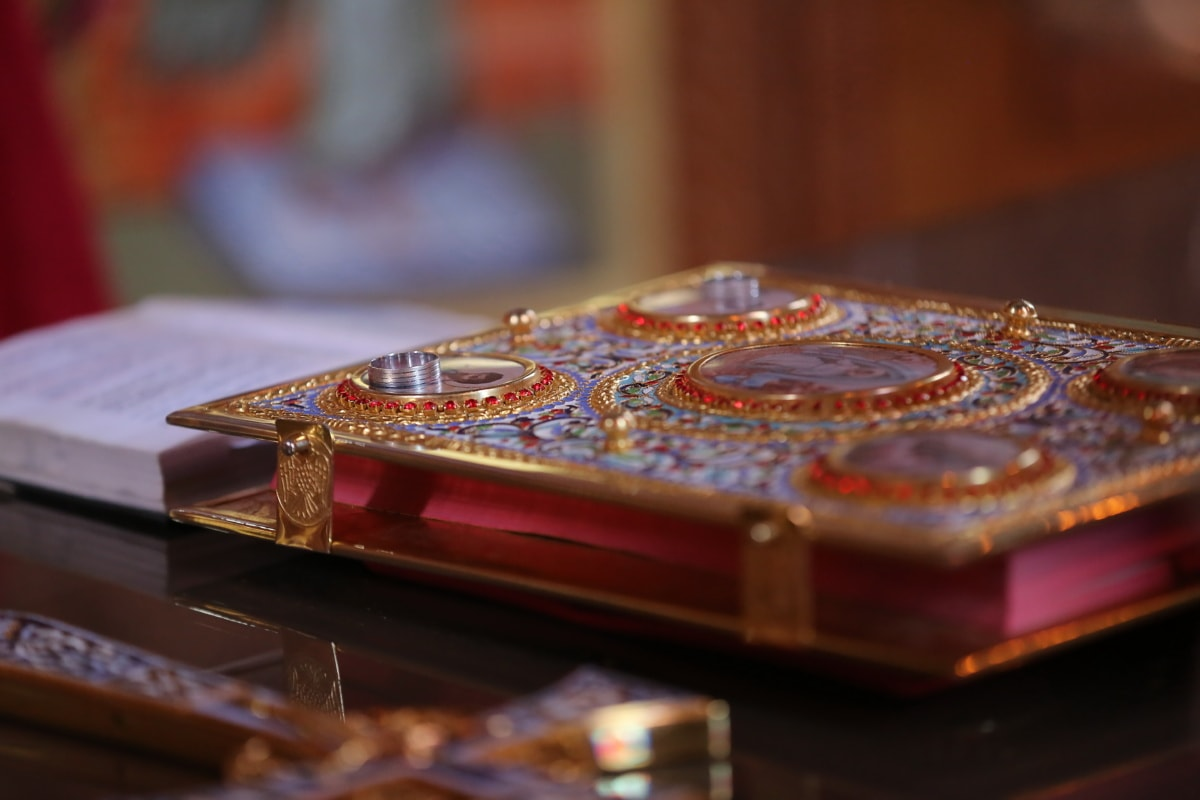 hardcover, golden glow, handmade, bible, jewel, jewelry, gold, business, indoors, religion