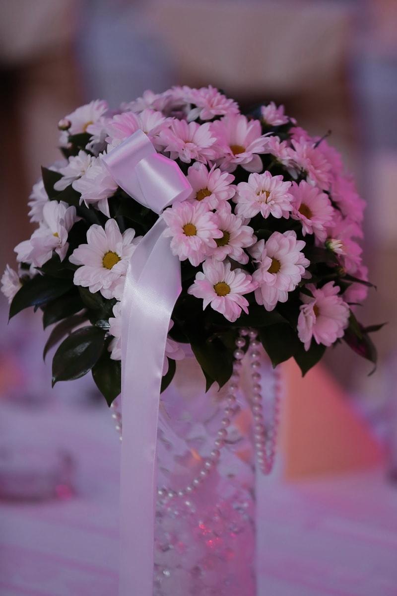 pearl, wedding bouquet, still life, daisies, wedding, arrangement, pink, bouquet, decoration, flower