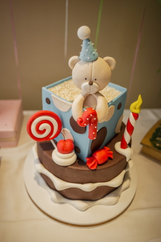 anniversaire, première, gâteau d'anniversaire, ours en peluche, cuisson au four, Coupe, gâteau, chocolat, sucre, Noël