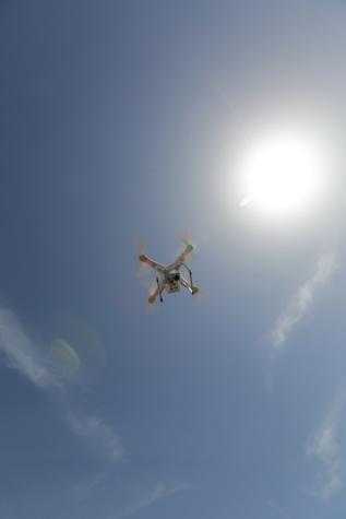 Jembatan, dron, perekaman video, elektronik, pengawasan, baling-baling, udara, Jet, penerbangan, terbang