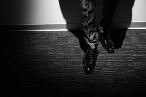 shoes, man, leather, shining, businessman, elegance, spotlight, businessperson, monochrome, foot