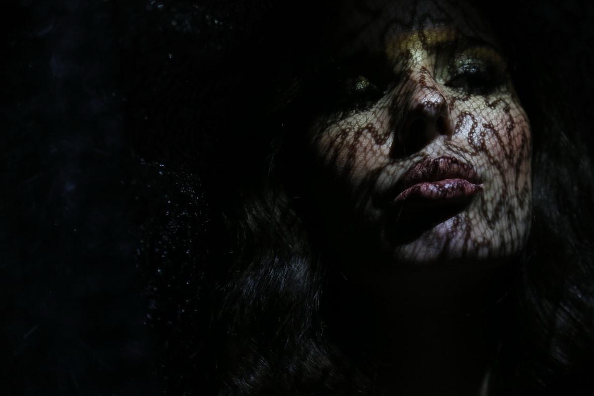 mulher, cara, sombra, nariz, perto, olhos, skincare, pestanas, boca, pele