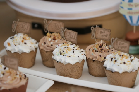 cupcake, light brown, vintage, snack, cake, chocolate, pastry, confectionery, dessert, sweet
