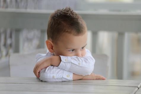portret, chłopiec, siedząc, Urocza, dziecko, dziecko, Dzieciństwo, ładny, osoba, pomieszczeniu