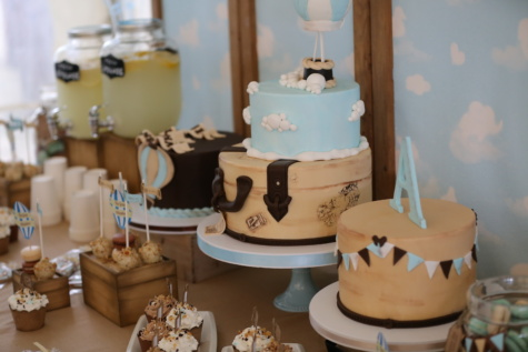 bolo de aniversário, aniversário, festa, pirulito, queque, limonada, design de interiores, Copa, de cozimento, dentro de casa