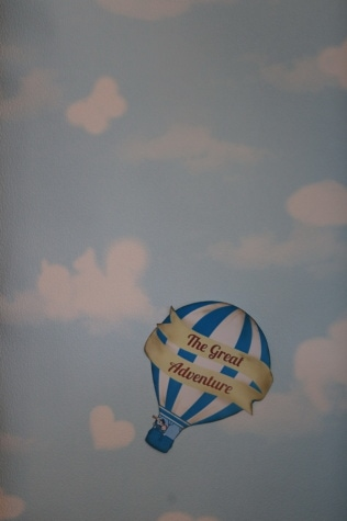 grande, aventure, air chaud, ballon, graphique, conception, photo, air, vol, vent