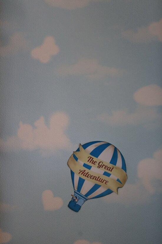 große, Abenteuer, heiße Luft, Ballon, Grafik, Design, Bild, Luft, Flug, Wind