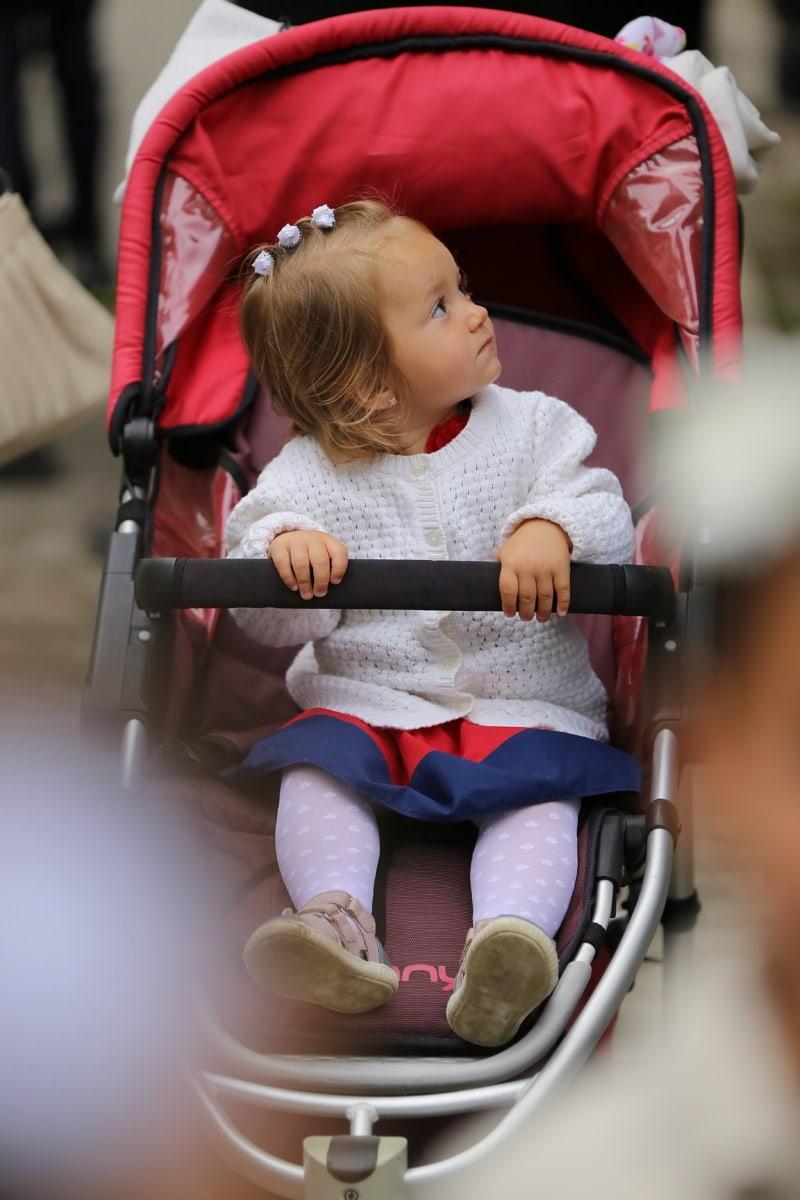 นั่งเล่น, เด็ก, สาวสวย, เด็กวัยหัดเดิน, มุมมองด้านข้าง, ลูกสาว, น่ารัก, เด็ก, น่ารัก, สนุก