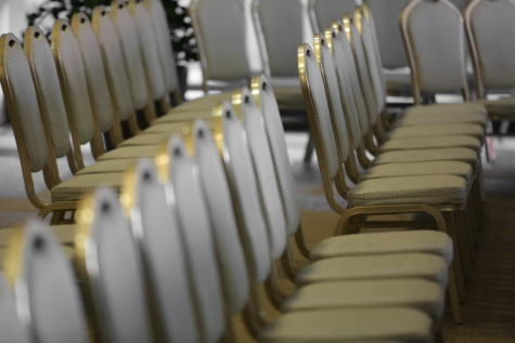 conference, room, elegance, chairs, chair, seat, equipment, object, golden glow, interior