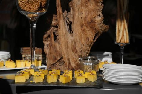 Appetizer, vom Buffet, Dekoration, Appetit, Partei, Trinken, Glas, Honig, Getränke, Wein